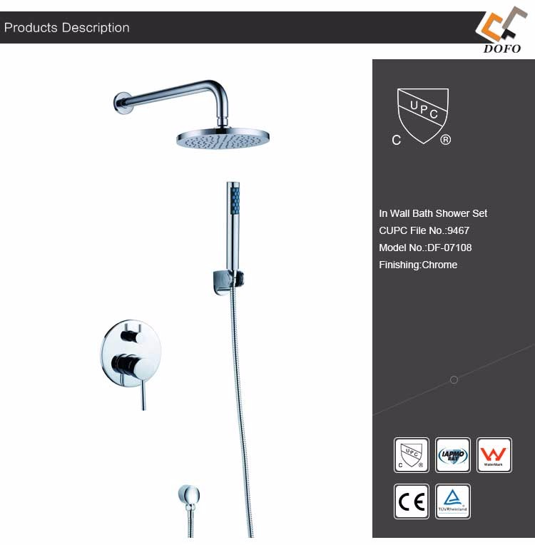 Grohe Bathroom 59 Brass In Wall Shower Set Buy In Wall Shower Set