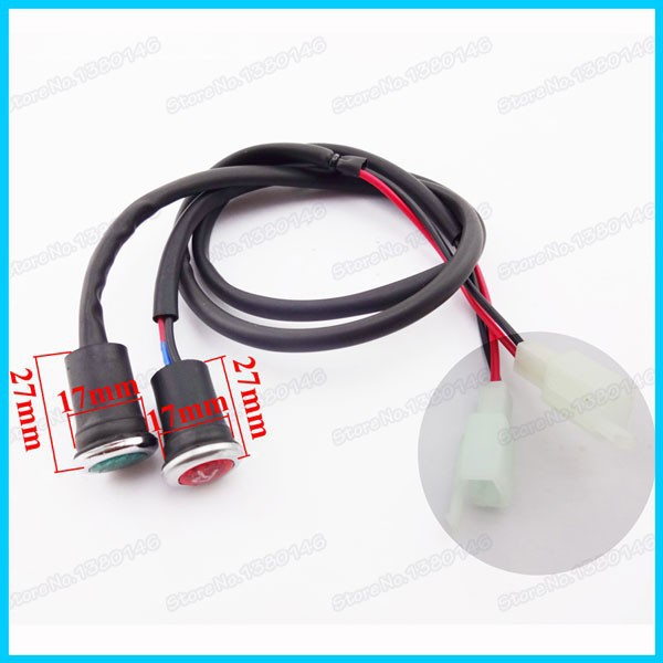 Motorcycle Accessories & Parts Smart Xlsion Neutral Reverse Gear Light Indicator For Chinese 50cc 110cc 125cc 150cc 200cc 250cc Atv Quad Moto Pit Dirt Bikes