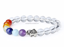 Natural Crystal Yoga Jewelry 7 Chakra Beaded Bracelet