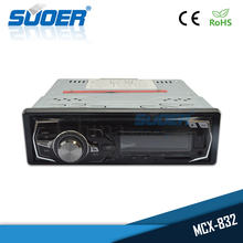 Suoer Factory Price Single Din Fixed Panel Car MP3 video DVD Player