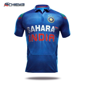 High quality custom logo design cricket kit /  Unisex quick dry cricket tops / colorful cricket team wear shop