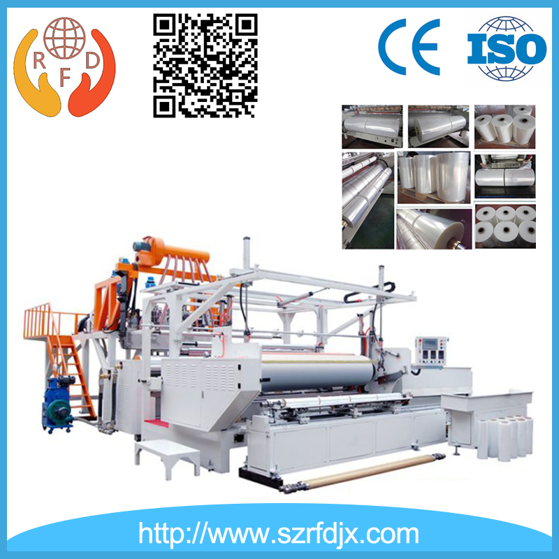 1500mm Three-layer/double-layer Co-extruded Cast PE Stretch Film Making Machinery