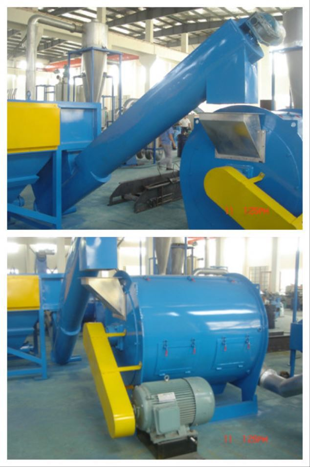 China factory waste plastic washing recycling machinery supplies
