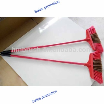 Sales promotion cleaning long handle plastic broom