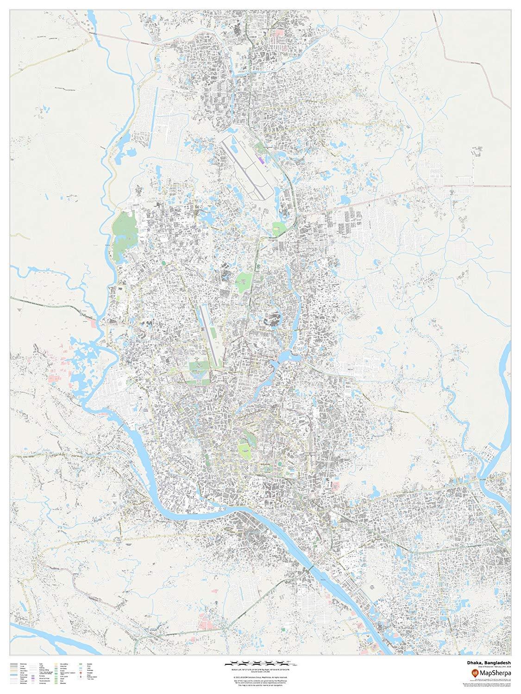 Bengal Nepal Bhutan Calcutta Bangladesh Johnston 1906 Map British India Ne