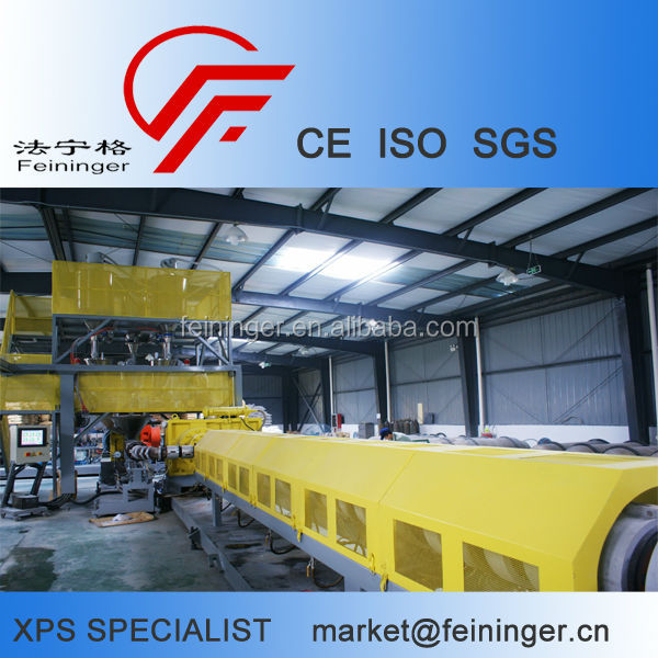 CO2/HCFC/Butane XPS Extruder, XPS Production Line (FS 75T/200)