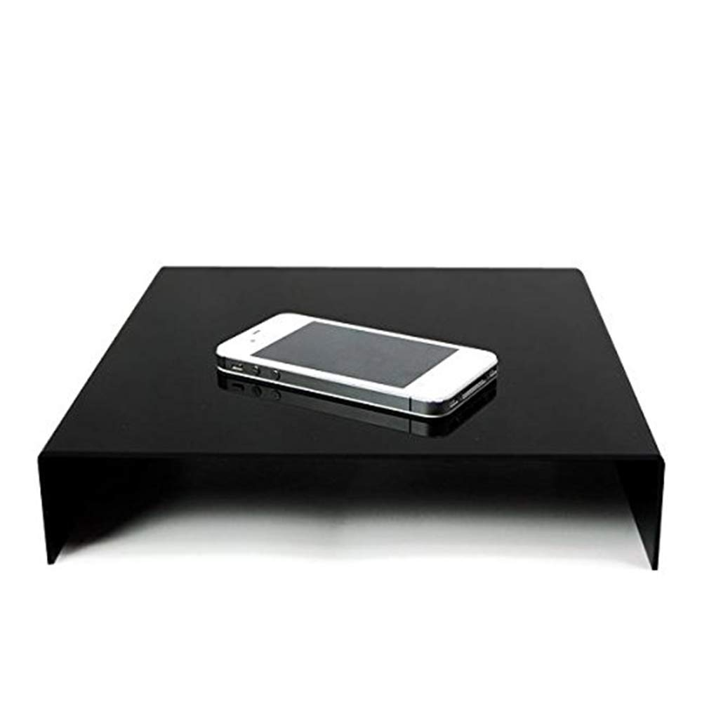 Table Top Black & White Acrylic Reflective Display Table kit for Product Photography