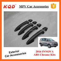 Matte Black Chrome Accesories Kit Handle Cover Handle Bowls For ...