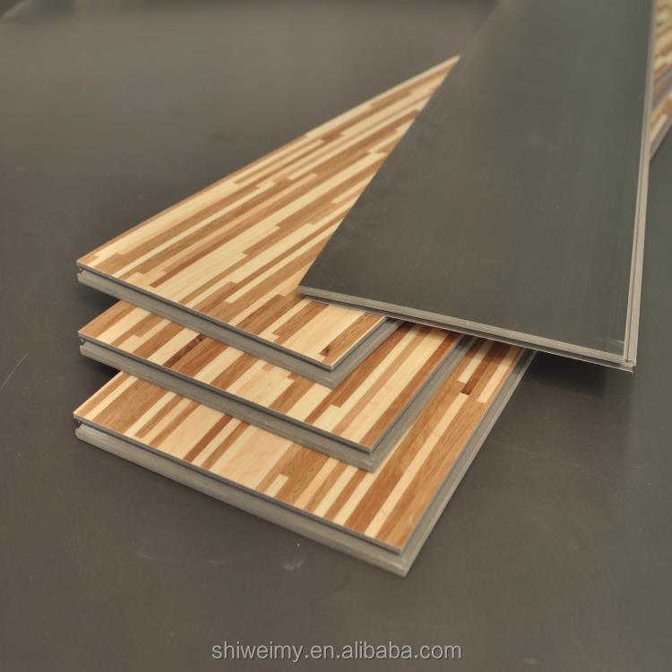 혼합 색상 그리드 디자인 현대 평면 나무 질감 라미네이팅 바닥 ...