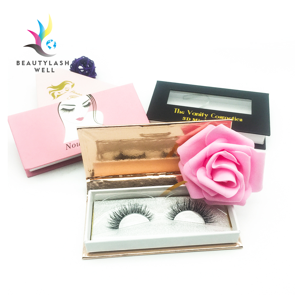 custom eyelashes 3d mink lashes private label factory, Natural black