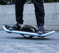 Hot selling power display coloured lights 10inch 2wheel hoverboard self balance scooter