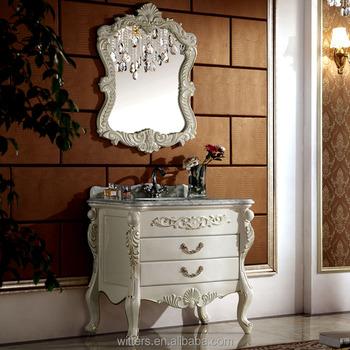 Shabby Chic Goldfolie Badmöbel,Viktorianischen Stil Konsole Eitelkeit  Sammlung Für Bad Wts603 - Buy Viktorianischen Badmöbel,Shabby Chic ...