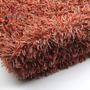 Microfiber chenille shaggy fabric for home textile