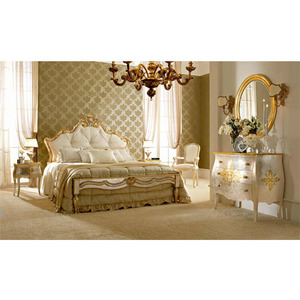 Antique French Style Home Furniture King size Bedroom Furniture,Furniture Rococo Bedroom Set