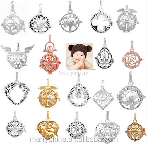 New Harmony Bola Locket Cage Pendant for Angel Caller Chime Ball Engelsrufer Floating Lockets Charms Mexican Bola