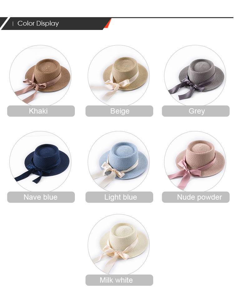 도매 manufacturer 컬러 풀 한 stripe 와 beautiful 체인 페도라 hat Panama hat