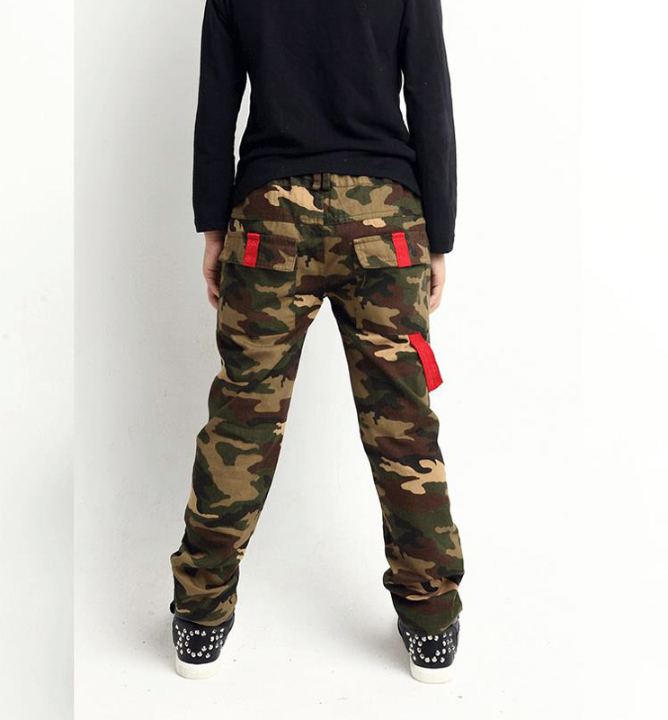 Kids Camouflage Jeans Unisex Camouflage Denim Pants Private Boys Casual Jeans Private Baby Girl s Pants