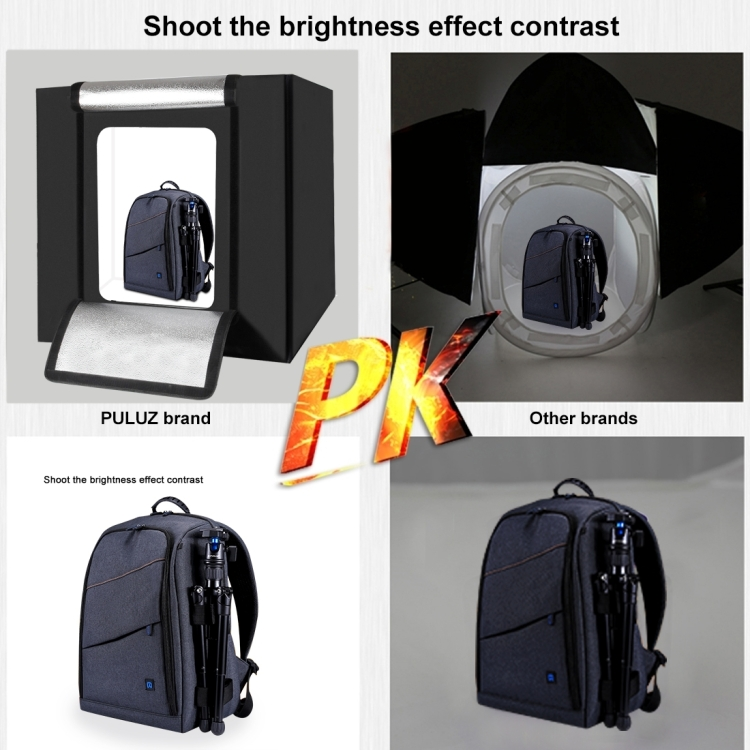 PULUZ 80 cm Opvouwbare Draagbare Softbox Wit Light Photo Verlichting Studio Box Fotografie Tent Box