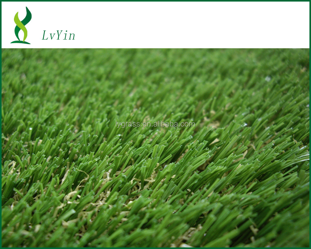 SGS landscaping artificial fake turf for indoor outdoor use