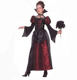 Ladies long evening party wear gown for halloween princess devil costume girls best vampire costume
