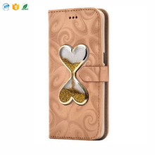 Cheap factory high quality leather phone case for iPhone 5/6/7 plus
