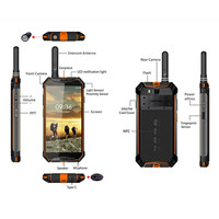 New Arrival Ulefone Armor 3T Tri-Proof Smart Phone IP68 Waterproof Dustproof Shockproof 10300mAh 4+64G Walkie Talkie Smartphone