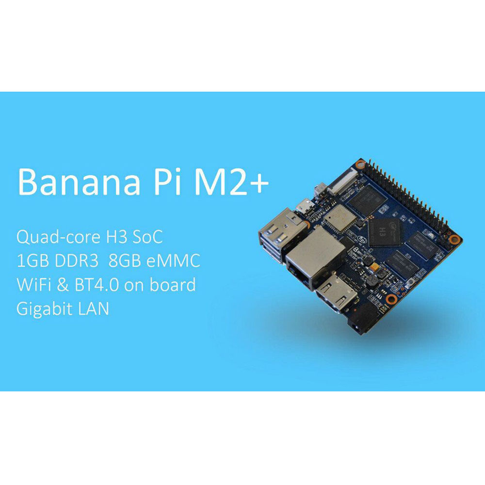 Hot sale Banana Pi have 64GB MicroSD card /Gigabit ethernet port on board run faster and more smoothly than Raspberry PI 3