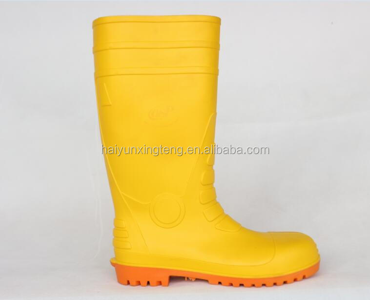 Anti-slip Men PVC Rubber Boots Manufacturer
