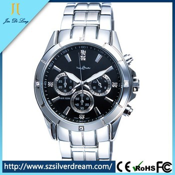 Japan Movt Quartz Watch Stainless Steel Back Watch Best Quality ...