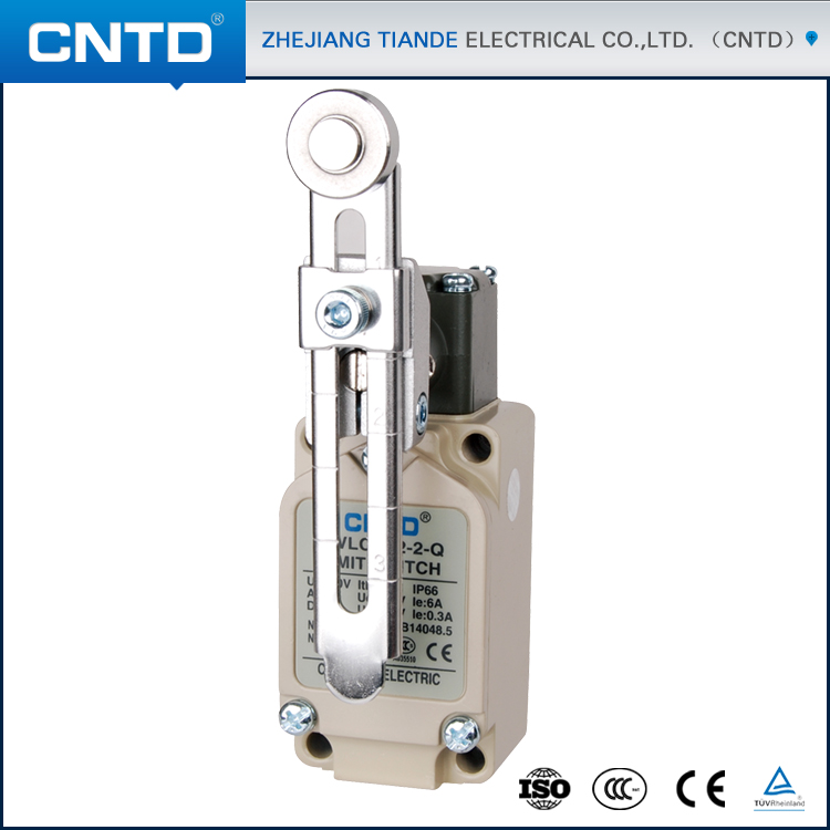 CNTD CE Approval Adjustable Roller type Elevator Limit Switch Omron Switch Replacement (CWLCA12-2-Q)