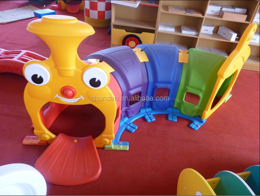 Rups kinderen plastic tunnel speelgoed kind