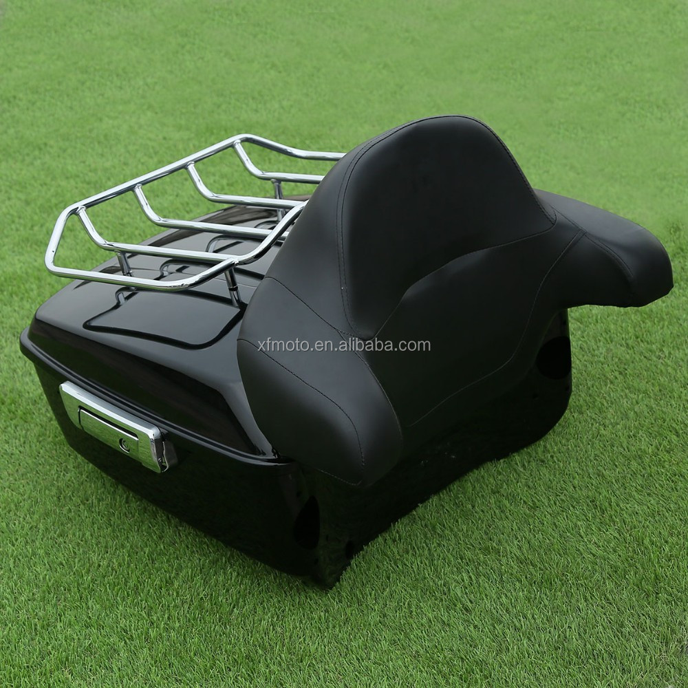 13 7 Quot Tour Pak Luggage Rack W Backrest For Touring Road