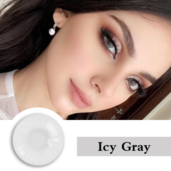Realcon Factory Price HD Natural  Colored  Contact Lens Yearly Soft Cosmetic  Contact lenses Manufactured