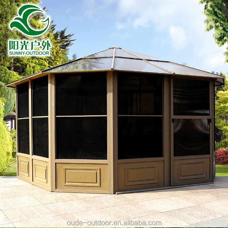 Polycarbonate Roof Gazebo, Polycarbonate Roof Gazebo Suppliers And  Manufacturers At Alibaba.com