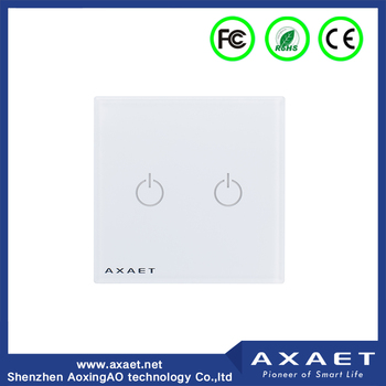 Wireless ble screen touch remote control intelligent light switches