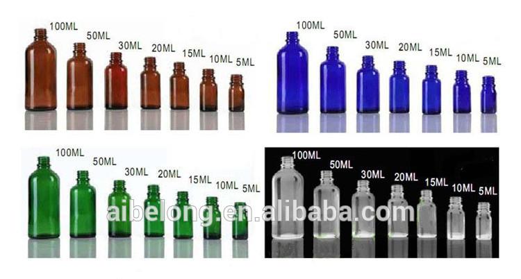 IBELONG 5 ml 10 ml 15 ml 20 ml 30 ml 50 ml 100 ml copo âmbar vazio 1 onça spray de névoa fabricante de frascos de perfume