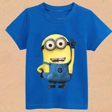 2015 New children full sleeve clothes boys girls spring autumn sweatshirts Baby cartoon active T-shirt Minnie Kitty