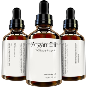 Cold Pressed and Responsibly Sourced 100% Pure Argan Oil for Hair and Skin