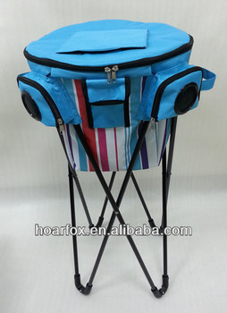 4bbcc1c9aced Promotional Gift Ice Bucket/foldable Cooler Bag With Stand Speakers For  Picnic Or Camping - Buy Ice Bucket/ Foldable Cooler Bag With  Speakers,Foldable ...