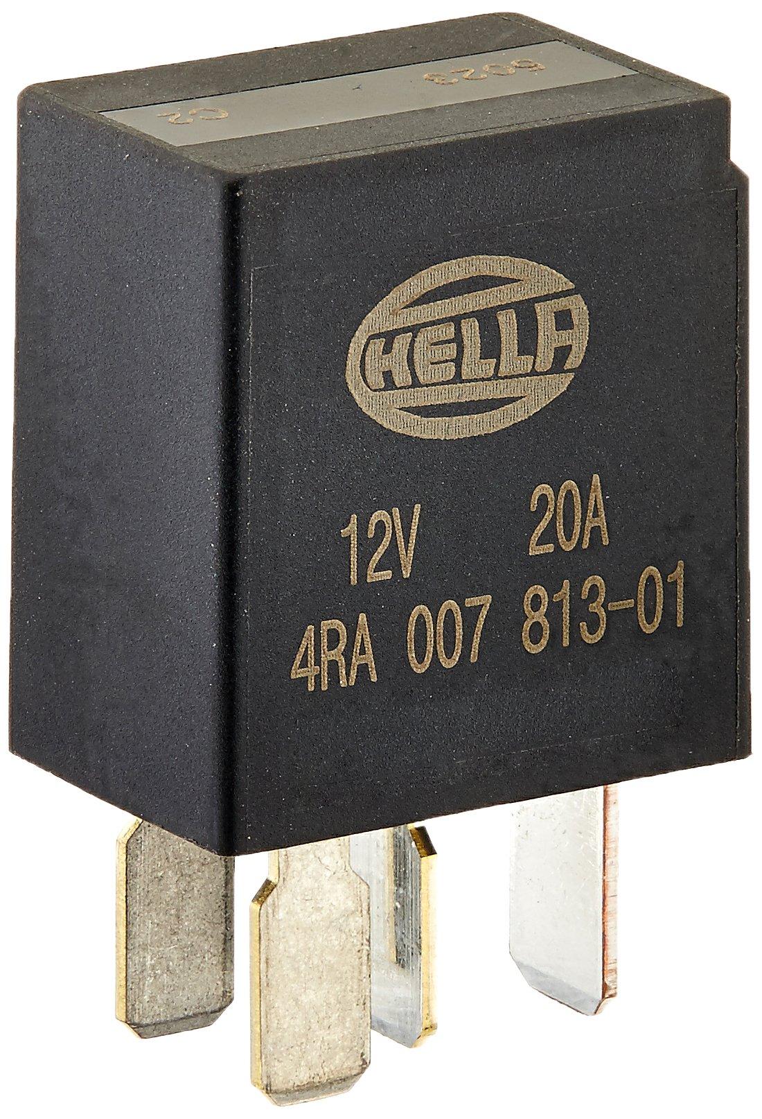 Hella 007903001 24v 10 20a Spdt Relay Black Wiring Diagram Lock
