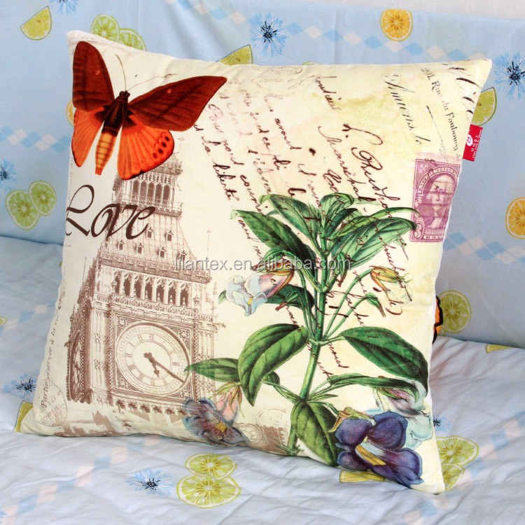 Cheap price wholesale feather digital print picasso sofa cushion cover replacement140