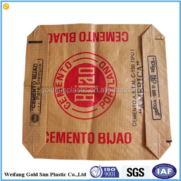 High Quality Kraft Paper Valve Bag pp cement bag