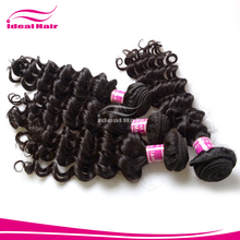 Ideal hair new fashion one piece curly synthetic 5 clip in hair extension