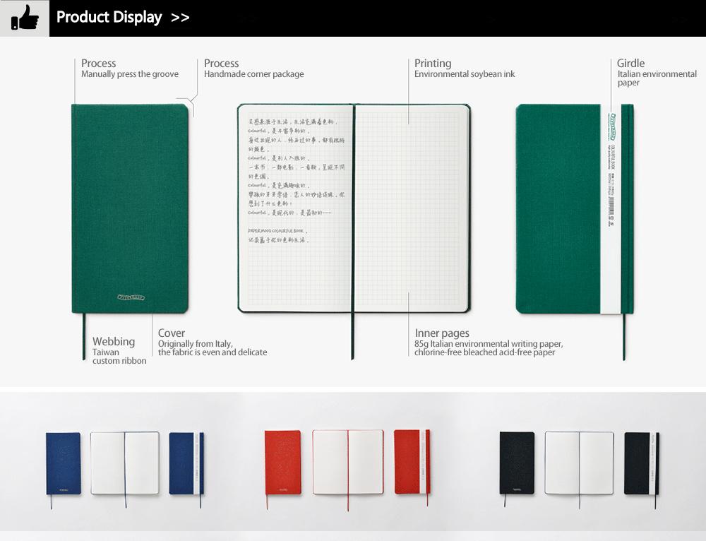 Hot Sale Custom A4 Paper Notebook Black Cover Notebooks Buy