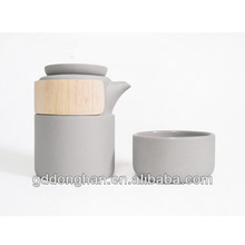 New design Creative tea set tea pot and cup tea sets with wooden accessory bamboo case