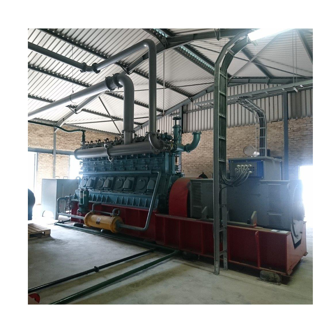 olive pomace briquette thermal electricity generation system