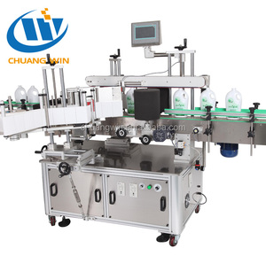 flat surface label applicator plastic bag labeling machine