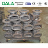 DIN GG 25 Grey iron casting for knife gate valve PN 16 body