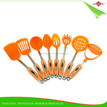 ZY-A4016 Food grade cooking tools cute nylon 8 pieces kitchen utensils set