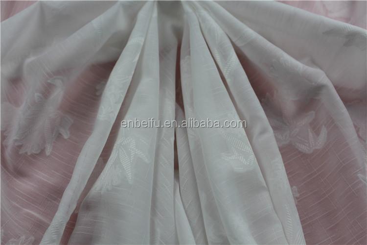 """58/"""" LARGE 3 mètres White Georgette Robe de mariée en mousseline de soie Tissu.."""